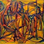 Tinta fresca  2010 - 200 x 100cm AST