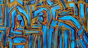 """""""Azulo #2″ 2010 150x130cm AST (vendido)"""