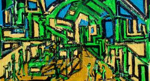"""Street #3″ 2009 120x170cm AST"