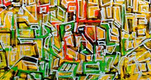 """Theme #1″ 2009 110x160cm AST"
